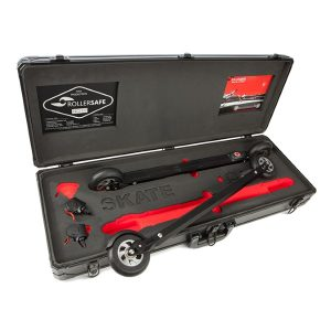Rollersafe Roller skis with wireless disc brakes, Skate Complete model
